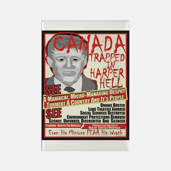 Harper Hell Magnets