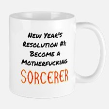 New Year's Resolution Sorcerer Mugs