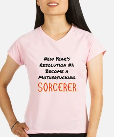 New Year's Resolution Sorcerer Performance Dry T-S