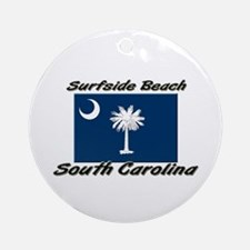 Surfside Beach South Carolina Ornament (Round)