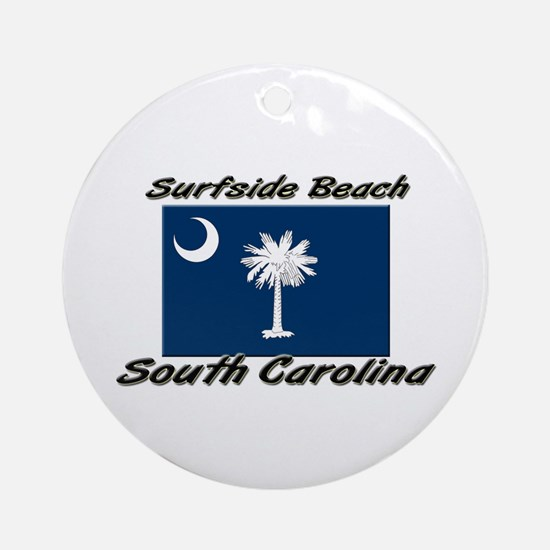 Surfside Beach South Carolina Ornament (Round)