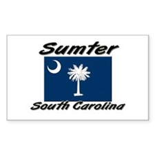 Sumter South Carolina Rectangle Decal