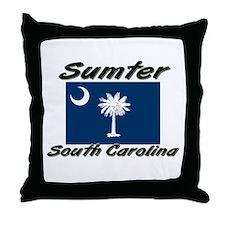 Sumter South Carolina Throw Pillow