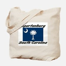 Spartanburg South Carolina Tote Bag