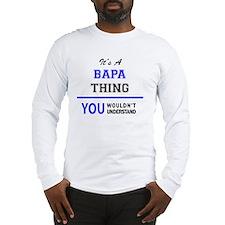 Cute Bapa Long Sleeve T-Shirt