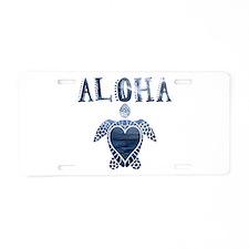 Turtle-AL-01 Aluminum License Plate