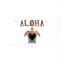 Turtle-AL-02 Aluminum License Plate