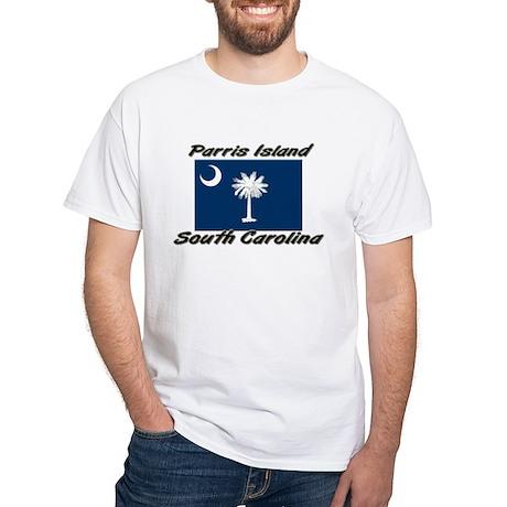 Parris Island South Carolina White T-Shirt