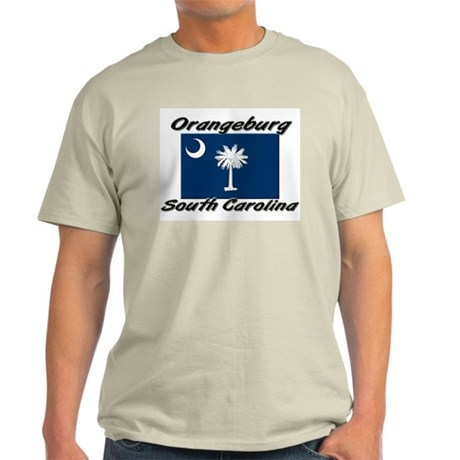 Orangeburg South Carolina Light T-Shirt
