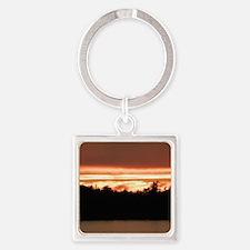 TOFINO SUNSET Square Keychain
