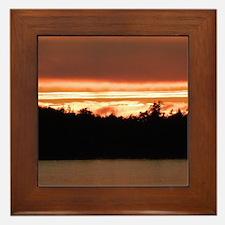 TOFINO SUNSET Framed Tile