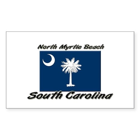 North Myrtle Beach South Carolina Decal By Ilovecities