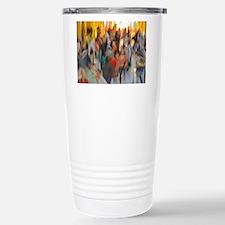 Grand Central: Abstract Travel Mug