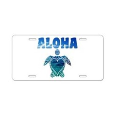 Turtle-AL-07 Aluminum License Plate