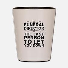 Unique Cemetery Shot Glass