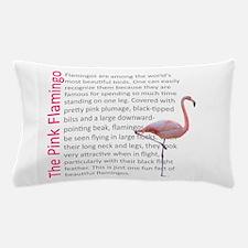 Fun Flamingo Fact Pillow Case