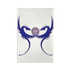 Masonic Blue Dragons Rectangle Magnet (100 pack)