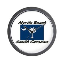 Myrtle Beach South Carolina Wall Clock