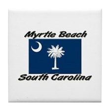 Myrtle Beach South Carolina Tile Coaster