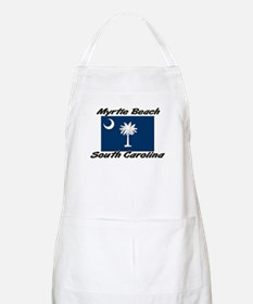 Myrtle Beach South Carolina BBQ Apron
