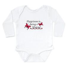 Cute Memaw Long Sleeve Infant Bodysuit