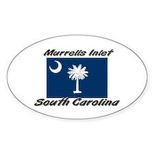Murrells Inlet South Carolina Oval Decal