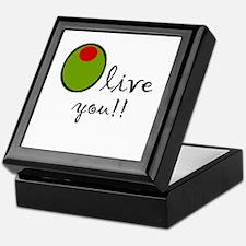 Olive You Keepsake Box