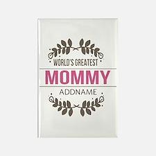 Custom Worlds Greatest Mommy Rectangle Magnet