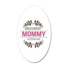 Custom Worlds Greatest Mommy Wall Decal