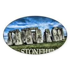 Stonehenge Great Britain Decal