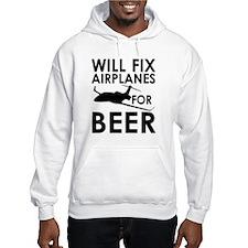 Airplanes Beer Hoodie