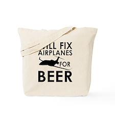 Airplanes Beer Tote Bag