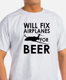 Airplanes Beer T-Shirt