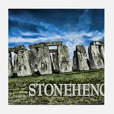 Stonehenge Great Britain Tile Coaster