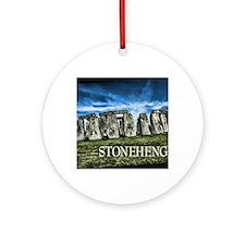 Stonehenge Great Britain Ornament (Round)