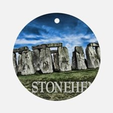Stonehenge Great Britain Ornament (Round)