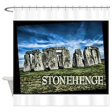 Stonehenge Great Britain Shower Curtain