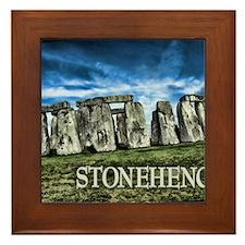 Stonehenge Great Britain Framed Tile