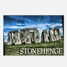 Stonehenge Great Britain Postcards (Package of 8)