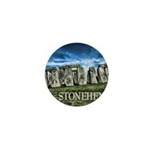 Stonehenge Great Britain Mini Button