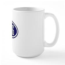 906 - Blue Logo - Yooper Mug