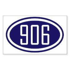 906 - Blue Logo - Yooper Decal