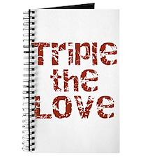 Triple The Love Journal