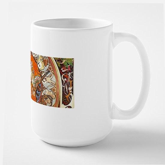 Alphonse Mucha La Plume Zodiac Mugs