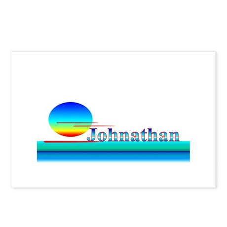 Johnathan Postcards (Package of 8)