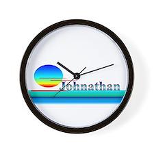 Johnathan Wall Clock