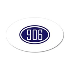 906 Yooper Gear Wall Decal