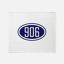906 Yooper Gear Throw Blanket