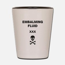 Embalmer Shot Glass