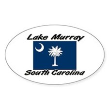 Lake Murray South Carolina Oval Decal
